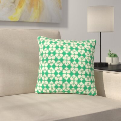 Celtic Pattern Outdoor Throw Pillow Size: 16 H x 16 W x 5 D