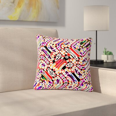 Dawid Roc Camouflage Pattern 2 Abstract Outdoor Throw Pillow Size: 16 H x 16 W x 5 D