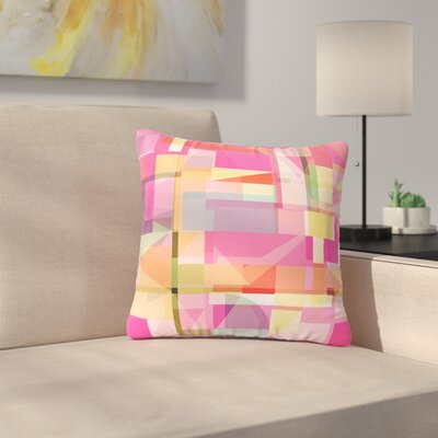 Fimbis Paku Geometric Outdoor Throw Pillow Size: 16 H x 16 W x 5 D