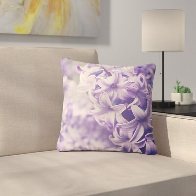 Angie Turner Dreams Lilac Outdoor Throw Pillow Size: 16 H x 16 W x 5 D