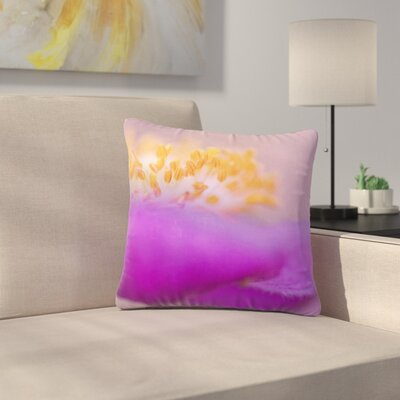 Iris Lehnhardt Grace Floral Outdoor Throw Pillow Size: 16 H x 16 W x 5 D