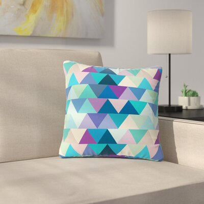 Draper Crystal Geometric Outdoor Throw Pillow Size: 18 H x 18 W x 5 D