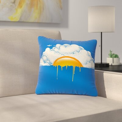 Digital Carbine Breakfast Food Outdoor Throw Pillow Size: 16 H x 16 W x 5 D