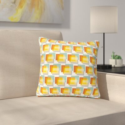 Juliana Motzko Geo 1 Outdoor Throw Pillow Size: 16 H x 16 W x 5 D