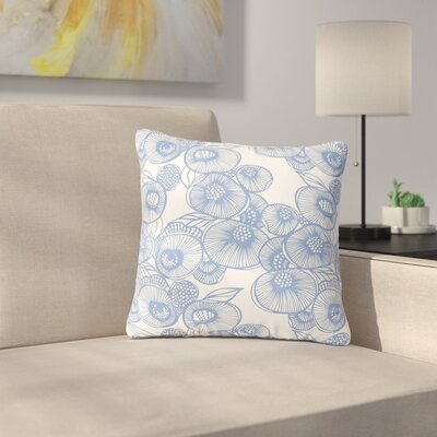 Gill Eggleston Fenella Floral Outdoor Throw Pillow Size: 18 H x 18 W x 5 D