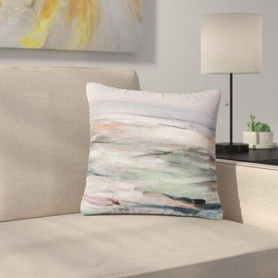 Iris Lehnhardt Coastal Scenery Abstract Outdoor Throw Pillow Size: 16 H x 16 W x 5 D