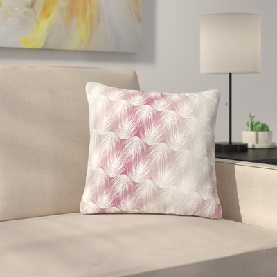 Gukuuki Stripe Palms Outdoor Throw Pillow Size: 18 H x 18 W x 5 D