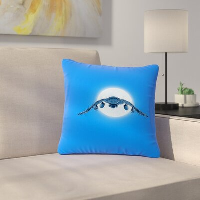 BarmalisiRTB Battle Owl Outdoor Throw Pillow Size: 18 H x 18 W x 5 D