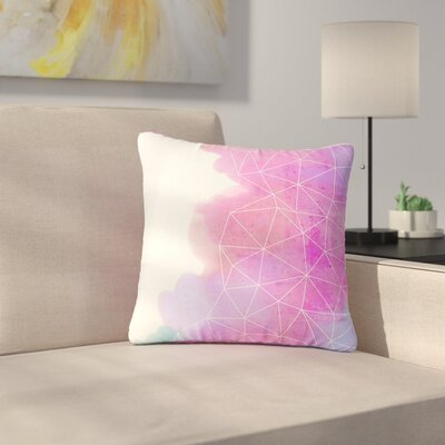 Cafelab Spring Shadows Outdoor Throw Pillow Size: 16 H x 16 W x 5 D