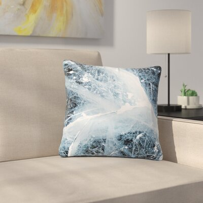 Deep Winter Outdoor Throw Pillow Size: 18