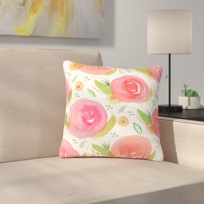Li Zamperini Florsle Outdoor Throw Pillow Size: 18