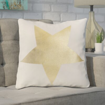 Whidden One Star 100% Cotton Throw Pillow