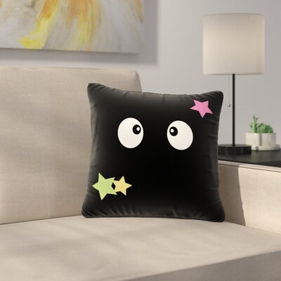 Jackie Rose Shoot Germlins Outdoor Throw Pillow Size: 18 H x 18 W x 5 D