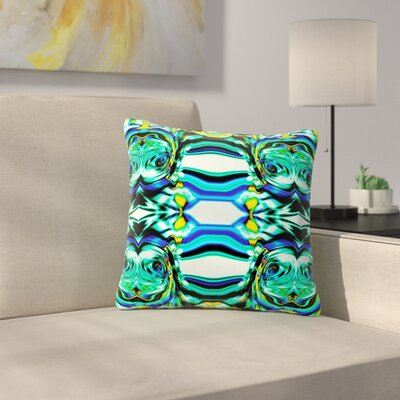 Dawid Roc Inspired by Psychedelic Art 5 Abstract Outdoor Throw Pillow Size: 16 H x 16 W x 5 D