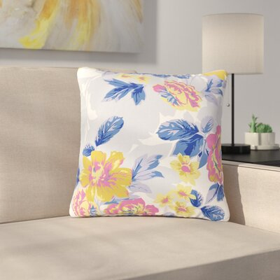 Gukuuki Royal Garden Outdoor Throw Pillow Size: 16 H x 16 W x 5 D