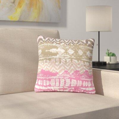Chickaprint Allegro Outdoor Throw Pillow Size: 18 H x 18 W x 5 D