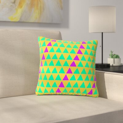 Matt Eklund Fiesta Outdoor Throw Pillow Size: 18 H x 18 W x 5 D