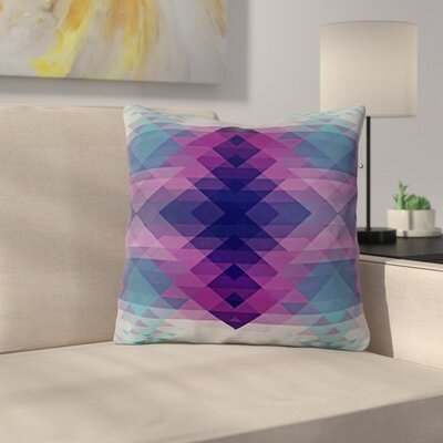 Hipsterland II by Nika Martinez Throw Pillow Size: 18 H x 18 W