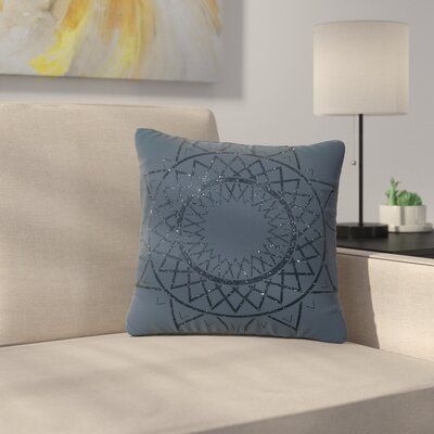 Matt Eklund Lunar Sundial Geometric Outdoor Throw Pillow Size: 16 H x 16 W x 5 D
