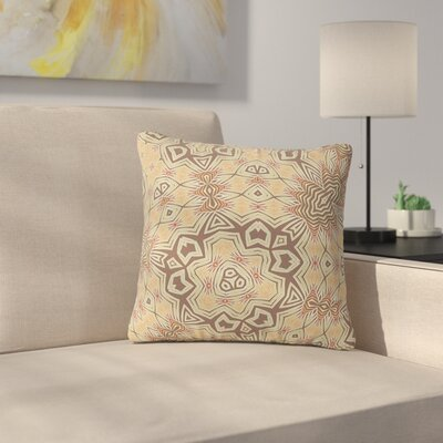 Alison Coxon Tribal Earth Digital Outdoor Throw Pillow Size: 16 H x 16 W x 5 D