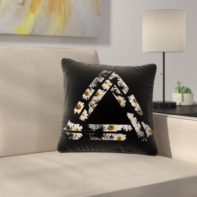 Alias Impossible Daisy Chain Outdoor Throw Pillow Size: 16 H x 16 W x 5 D