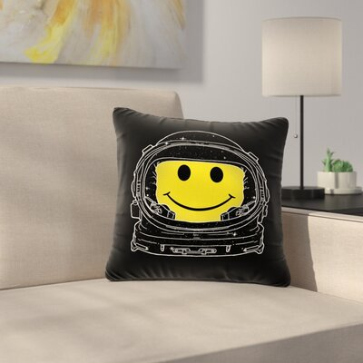Digital Carbine Happiness Digital Outdoor Throw Pillow Size: 16 H x 16 W x 5 D