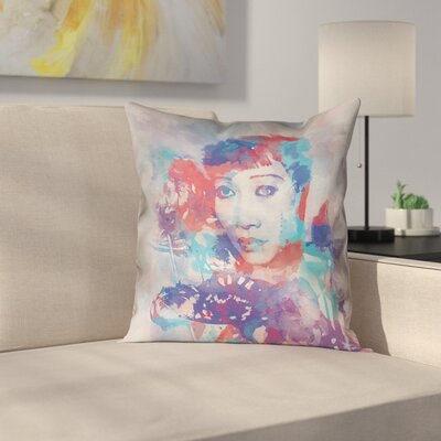 Portrait Square Pillow Cover Size: 16 x 16