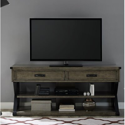 Lagrone 63 TV Stand Color: Weathered Oak