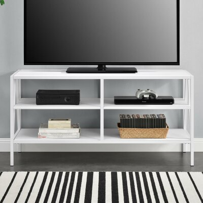 Avondale 49 TV Stand Color: White