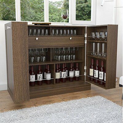 Chino Hills Bar Buffet 20 Bottle Floor Wine Rack