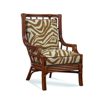 Seville Wingback Chair Upholstery: 0216-53/Black