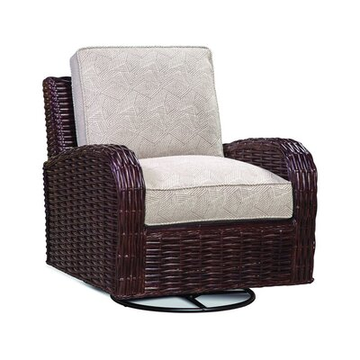 Copenhagen Swivel Armchair Upholstery: 0863-93/Honey