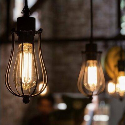 10W E26/Medium (Standard) LED Vintage Filament Light Bulb (Set of 6)