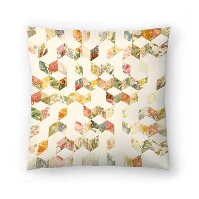 Florent Bodart Keziah Flowers Throw Pillow Size: 14 x 14