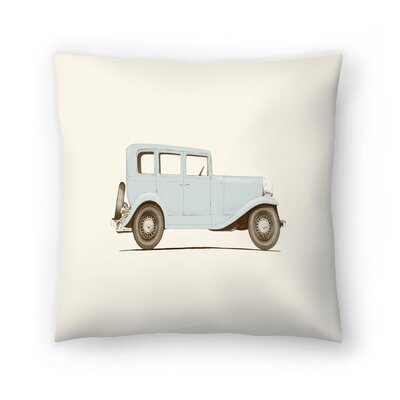 Florent Bodart Car 30 Throw Pillow Size: 20 x 20