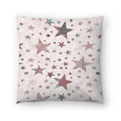 Stars Throw Pillow Size: 14 x 14
