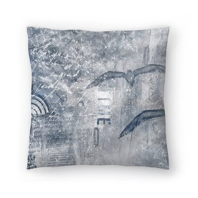 Time Flies 2 Throw Pillow Size: 18 x 18