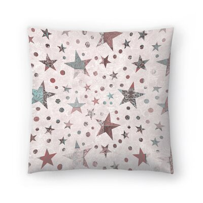 Stars 1 Throw Pillow Size: 16 x 16