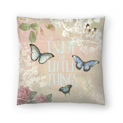 Butterfly Throw Pillow Size: 14 x 14
