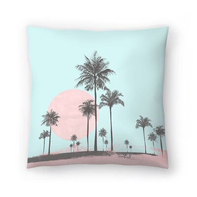 Sun Set Throw Pillow Size: 18 x 18