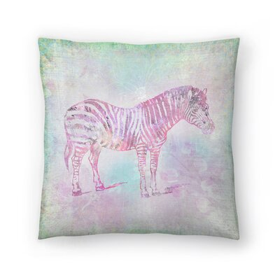 Vintage Animal Color 4 Throw Pillow Size: 20 x 20