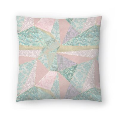 Patchwork Master Throw Pillow Size: 16 x 16