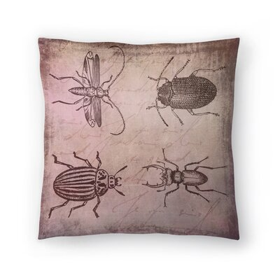 Vintage Animal Color 7 Throw Pillow Size: 14 x 14