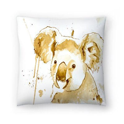 Koala Bear Throw Pillow Size: 20 x 20