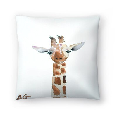 Giraffe Throw Pillow Size: 20 x 20