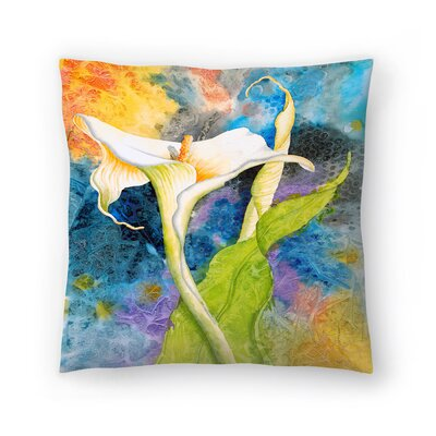 Sunshine Taylor Calla Cosmos Indoor/Outdoor Throw Pillow Size: 14 x 14