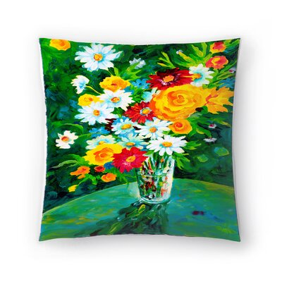 Sunshine Taylor Gardens Parkers Indoor/Outdoor Throw Pillow Size: 16 x 16