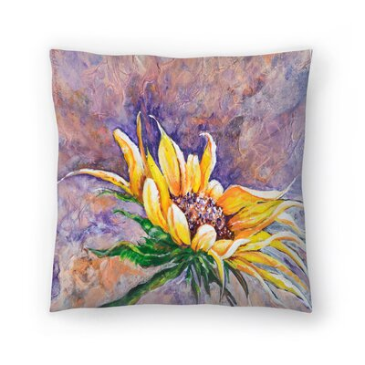 Sunshine Taylor Greeting the Sun Indoor/Outdoor Throw Pillow Size: 18 x 18
