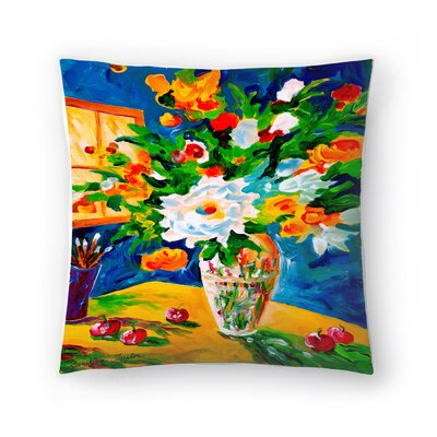Sunshine Taylor Happy Go Lucky Indoor/Outdoor Throw Pillow Size: 20 x 20