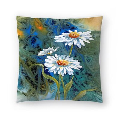 Sunshine Taylor Oh Happy Day Indoor/Outdoor Throw Pillow Size: 18 x 18
